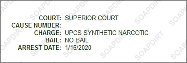 Love After Lockup: Matt Frasier - Drug Arrest - 2020-01-16