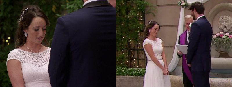 Married at First Sight: Derek Sherman - Katie Conrad - wedding vows