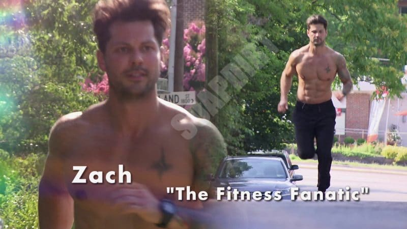 Married at First Sight: Zach Justice - Fitness Fanatic