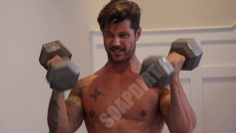 Married at First Sight: Zach Justice - Shirtless - weights