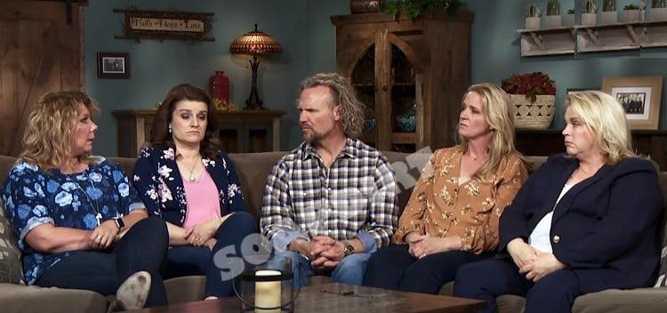 Sister Wives: Meri Brown - Robyn Brown - Kody Brown - Christine Brown - Janelle Brown