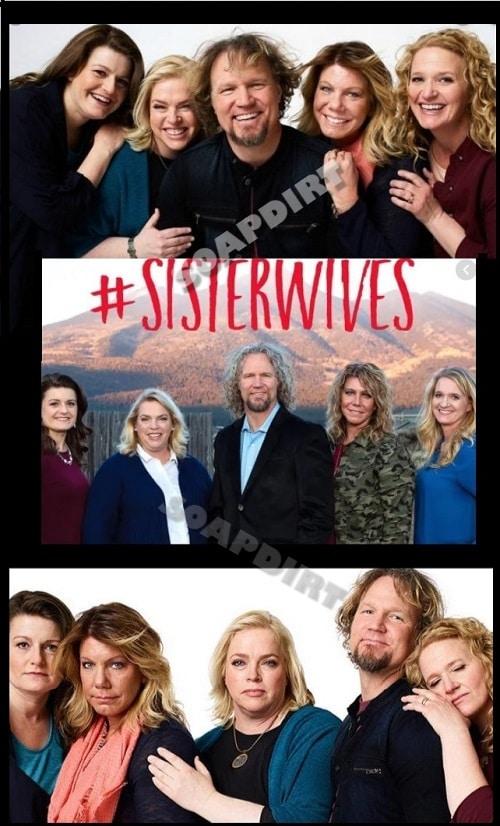 Sister Wives: Robyn Brown - Meri Brown - Janelle Brown - Christine Brown - Kody Brown