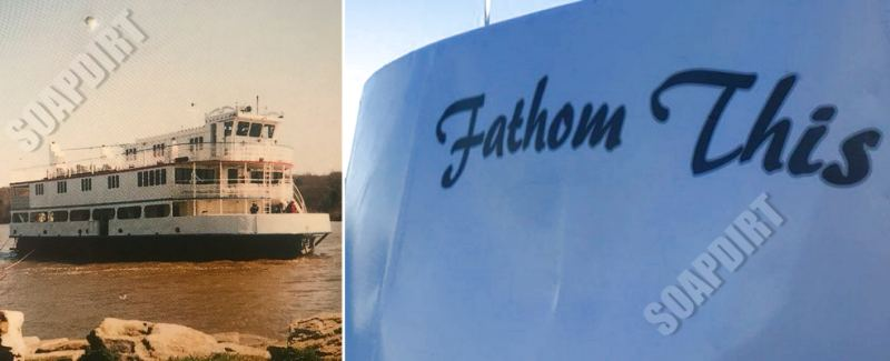 Alaskan Bush People - Fathom This - The Osprey - Ferry Boat - Bam Brown - Houseboat