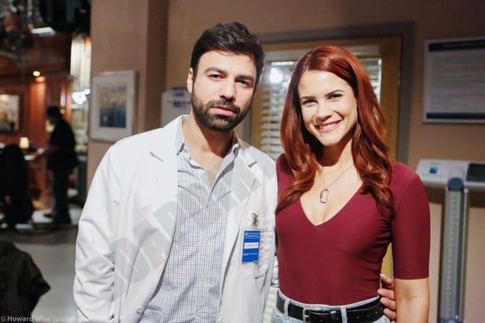 Bold and the Beautiful Spoilers: Sally Spectra (Courtney Hope) - Andreas Georgiou
