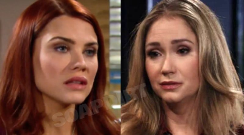 Bold and the Beautiful Spoilers: Sally Spectra (Courtney Hope) - Bridget Forrester (Ashley Jones)