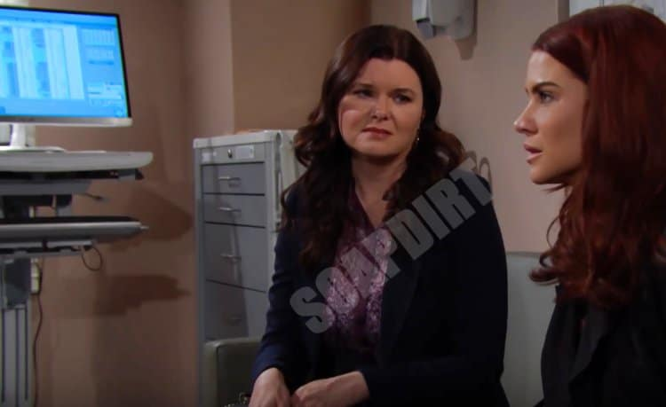 Bold and the Beautiful Spoilers: Sally Spectra (Courtney Hope) - Katie Logan (Heather Tom)