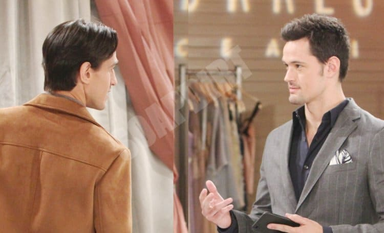 Bold and the Beautiful Spoilers: Thomas Forrester (Matthew Atkinson) - Vinny Walker (Joe LoCicero)v