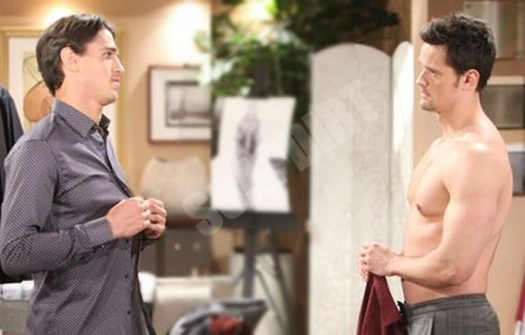 Bold and the Beautiful Spoilers: Thomas Forrester (Matthew Atkinson) - Vinny Walker (Joe LoCicero)