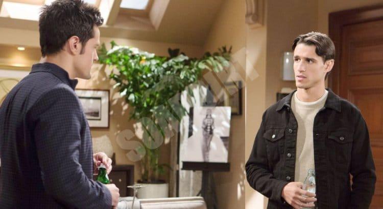 Bold and the Beautiful Spoilers: Thomas Forrester (Matthew Atkinson) - Vinny Walker (Joe LoCicero)