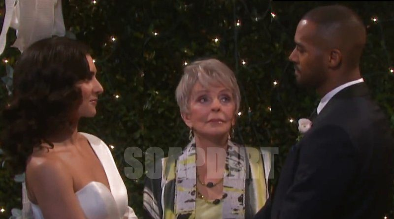 Days of Our Lives Spoilers: Gabi Hernandez (Camila Banus) - Julie Williams (Susan Seaforth Hayes) - Eli Grant (Lamon Archey) - Julie Williams (Susan Seaforth Hayes)