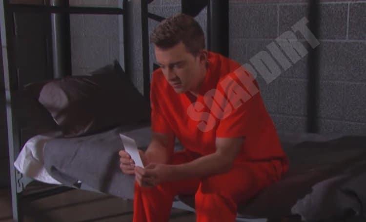 DOOL Spoilers: Will Horton (Chandler Massey) in jail for Maggie Horton