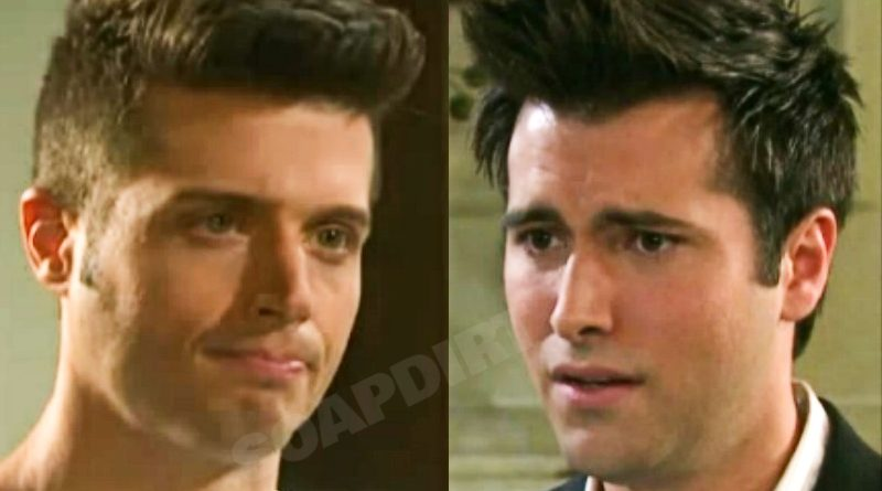 Days of Our Lives Spoilers: Evan Frears (Brock Kelly) - Sonny Kiriakis (Freddie Smith)