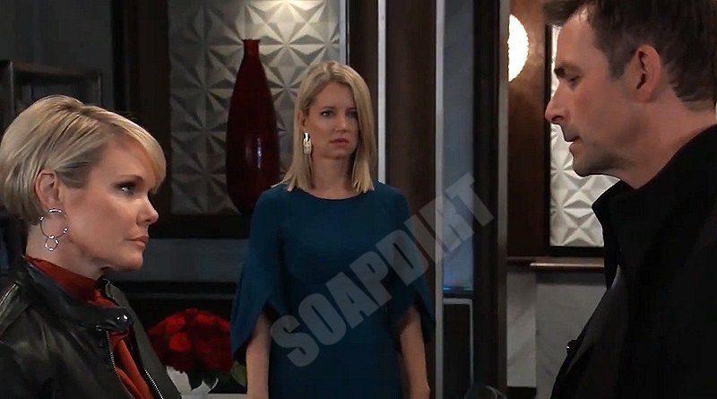 General Hospital Spoilers: Ava Jerome (Maura West) - Nina Reeves (Cynthia Watros) - Valentin Cassadine (James Patrick Stuart)