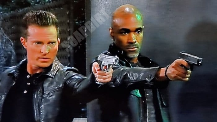 General Hospital Spoilers: Jason Morgan (Steve Burton) - Curtis Ashford (Donnell Turner)