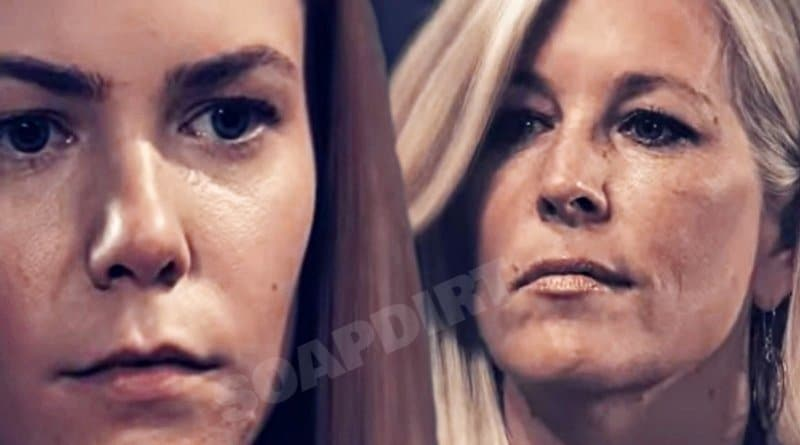 General Hospital Spoilers: Nelle Hayes (Chloe Lanier) - Carly Corinthos (Laura Wright)