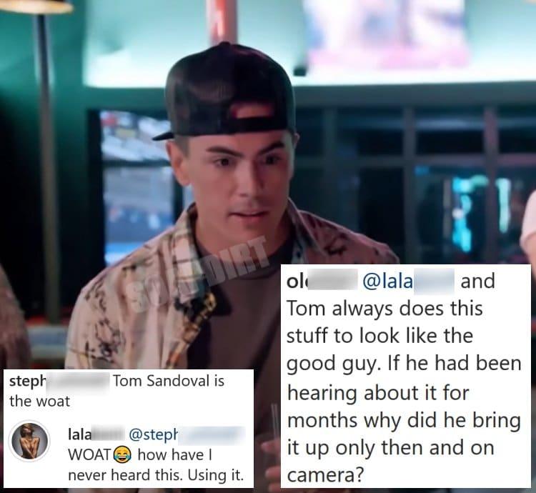 Vanderpump Rules: Lala Kent vs Tom Sandoval