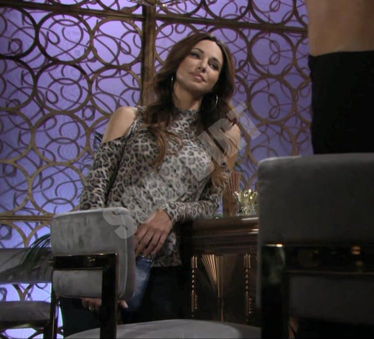 Young and the Restless Comings & Goings: Riza Thompson (Tina Casciani)