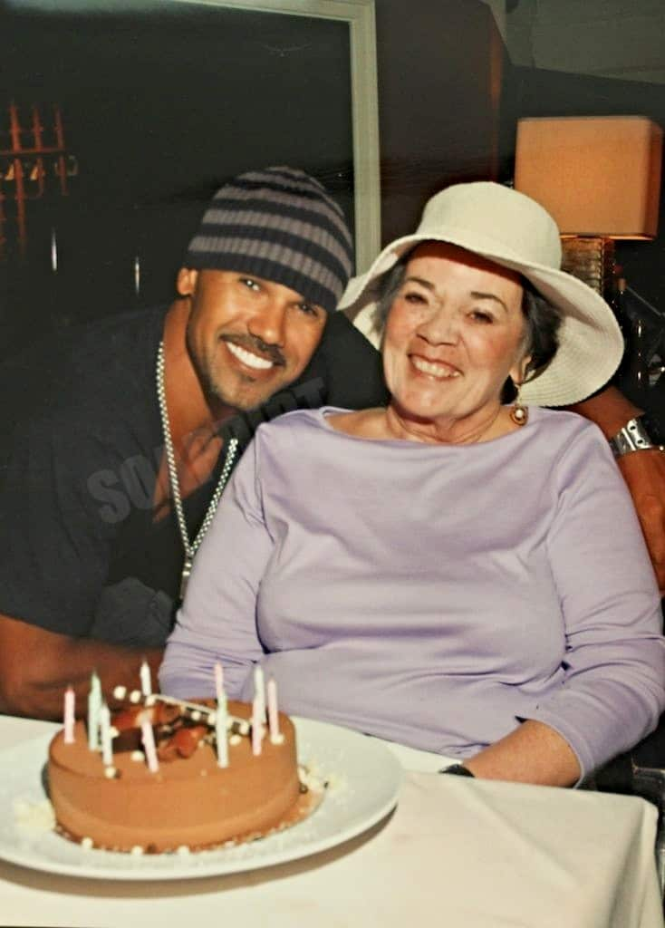 Young and the Restless: Malcolm Winters (Shemar Moore) - (Marilyn Wilson Moore)