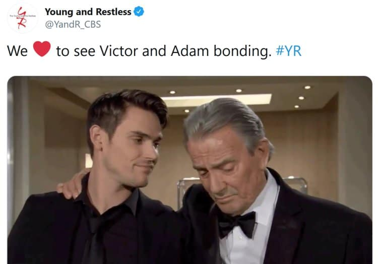 Young and the Restless Spoilers: Will Adam Newman or Nick Newman be CEO - Victor Newman decides