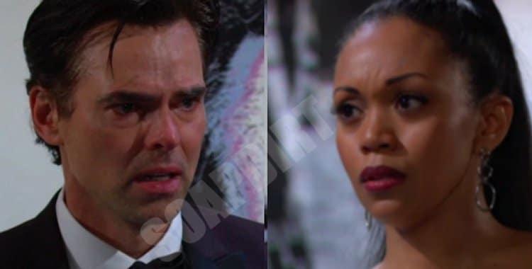 Y&R Spoilers: Billy Abbott (Jason Thompson) - Amanda Sinclair (Mishael Morgan)