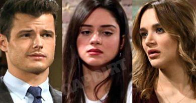 Young and the Restless Spoilers: Kyle Abbott (Michael Mealor) - Lola Rosales (Sasha Calle) - Summer Newman (Hunter King)