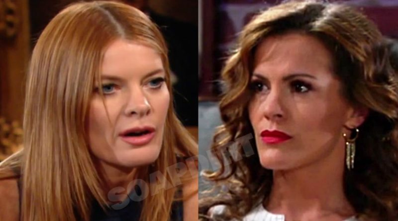 Young and the Restless Spoilers: Phyllis Summers (Michelle Staffford) - Chelsea Newman (Melissa Claire Egan)