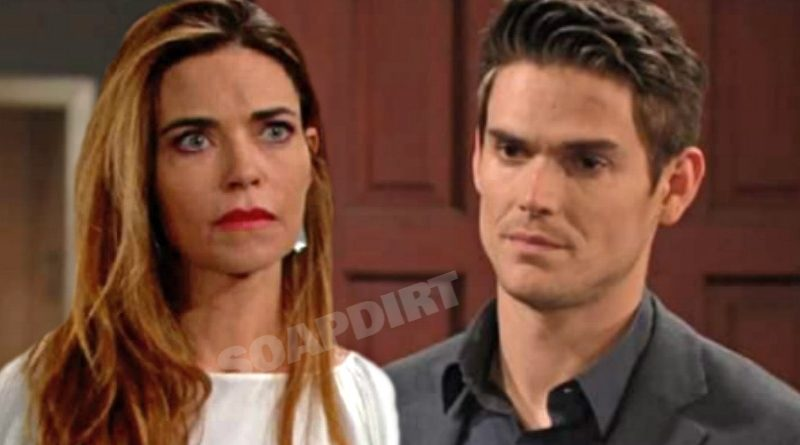 Young and the Restless Spoilers: Victoria Newman (Amelia Heinle) - Adam Newman (Mark Grossman)