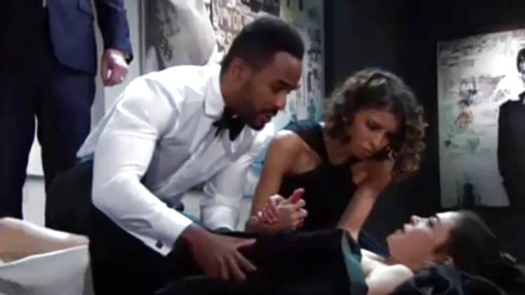 Young and the Restless Spoilers: Victoria Newman (Amelia Heinle) - Nate Hastings (Sean Dominic) - Elena Butler (Brytni Sarpy)