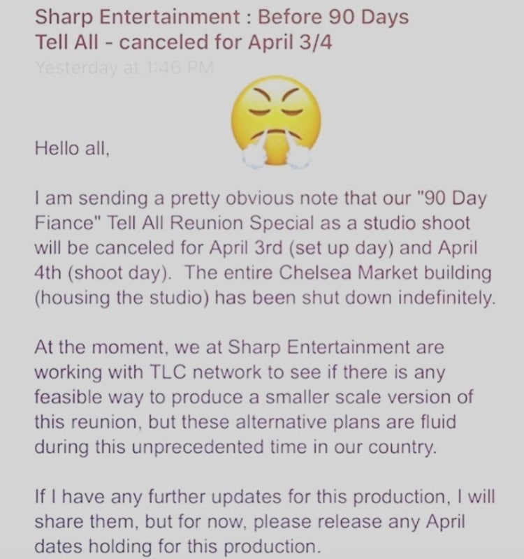 90 Day Fiance: Sharp Entertainment Announcement - Before the 90 Days