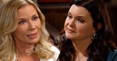 Bold and the Beautiful Spoilers: Brooke Logan (Katherine Kelly Lang) - Katie Logan (Heather Tom)