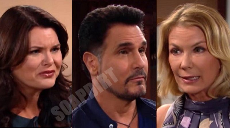 Bold and the Beautiful Spoilers: Brooke Logan (Katherine Kelly Lang) - Katie Logan (Heather Tom) - Bill Spencer (Don Diamont)