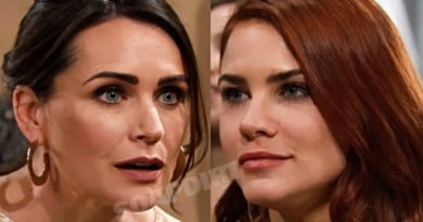 Bold and the Beautiful Spoilers: Quinn Forrester (Rena Sofer) - Sally Spectra (Courtney Hope)