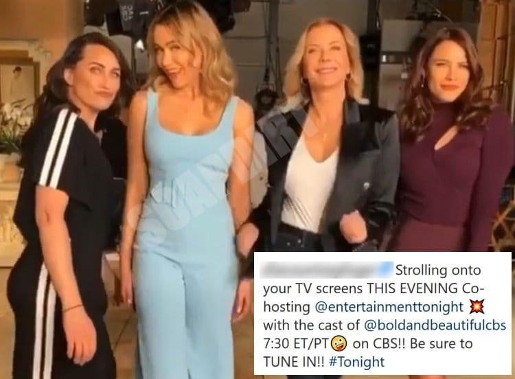 Bold and the Beautiful Spoilers: Sally Spectra (Courtney Hope) - Brooke Logan (Katherine Kelly Lang) - Flo Fulton (Katrina Bowden) - Quinn Fuller (Rena Sofer)