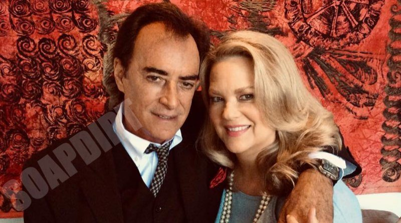 Days of Our Lives Comings & Goings: Anna DiMera (Leann Hunley) - Tony DiMera (Thaao Penghlis)