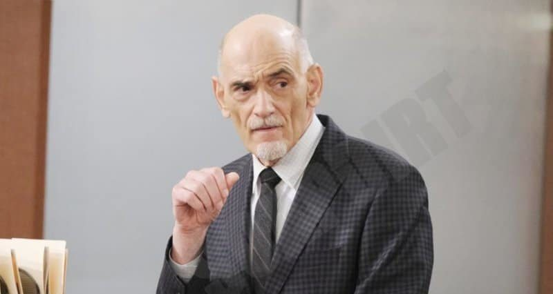 Days of Our Lives Spoilers: Dr Rolf (William Utay)