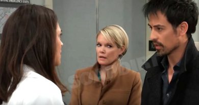 General Hospital Spoilers: Britt Westbourne (Kelly Thiebaud) - Ava Jerome (Maura West) - Nikolas Cassadine (Marcus Coloma)