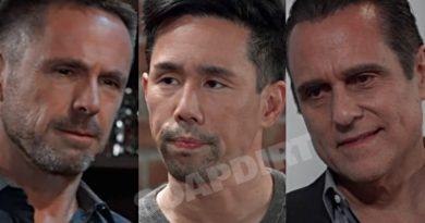 General Hospital Spoilers: Julian Jerome (William deVry) Sonny Corinthos (Maurice Benard) - Brad Cooper (Parry Shen)