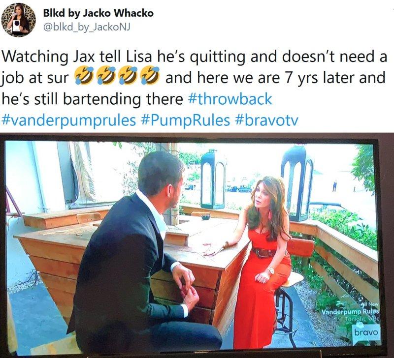 Pump Rules: Lisa Vanderpump - Jax Taylor