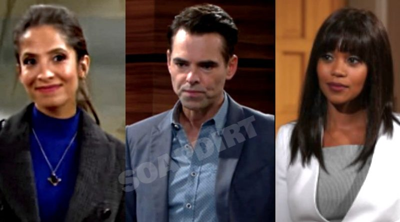 Young and the Restless Spoilers: Lily Winters (Christel Khalil) - Billy Abbott (Jason Thompson) - Amanda Sinclair (Mishael Morgan)
