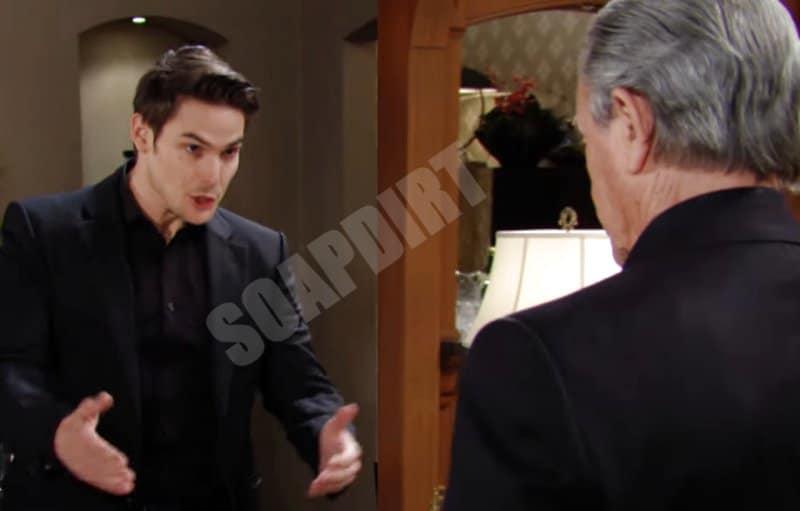 Y&R Spoilers: Adam Newman (Mark Grossman) - Victor Newman (Eric Braeden)