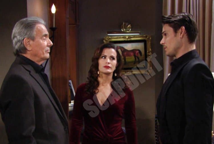 Young and the Restless Spoilers: Adam Newman (Mark Grossman) - Victor Newman (Eric Braeden) - Chelsea Newman (Melissa Claire Egan)