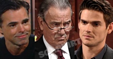 Young and the Restless Spoilers: Adam Newman (Mark Grossman) - Victor Newman (Eric Braeden) - Billy Abbott (Jason Thompson)