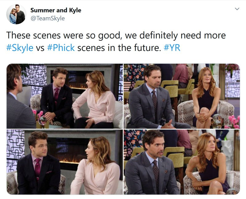 Young and the Restless Spoilers: Nick Newman (Joshua Morrow) - Phyllis Newman (Michelle Stafford) - Kyle Abbott (Michael Mealor) - Summer Newman (Hunter King)