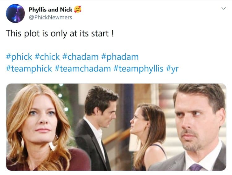 Young and the Restless Spoilers: Adam Newman (Mark Grossman) - Chelsea Newman (Melissa Claire Egan) - Nick Newman (Joshua Morrow) - Phyllis Summers (Michelle Stafford)
