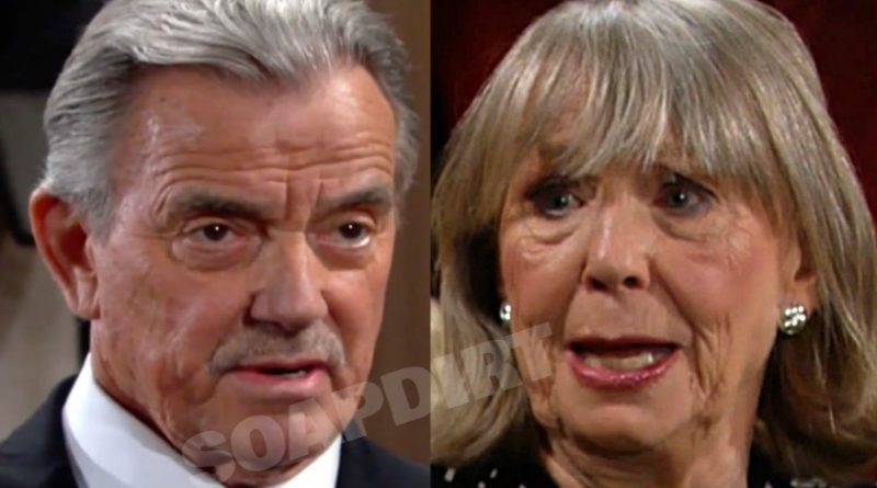 Young and the Restless Spoilers: Victor Newman (Eric Braeden) - Dina Mergeron (Marla Adams)