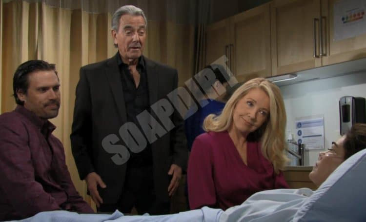 Young and the Restless Spoilers: Victor Newman (Eric Braeden) - Victoria Newman (Amelia Heinle) - Nikki Newman (Melody Thomas Scott) - Nick Newman (Joshua Morrow)