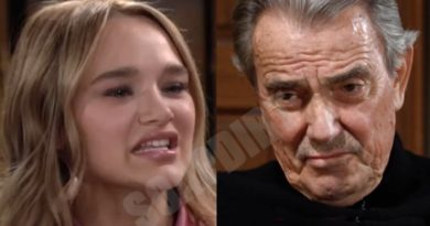 Young and the Restless Spoilers: Victor Newman (Eric Braeden) - Summer Newman (Hunter King)
