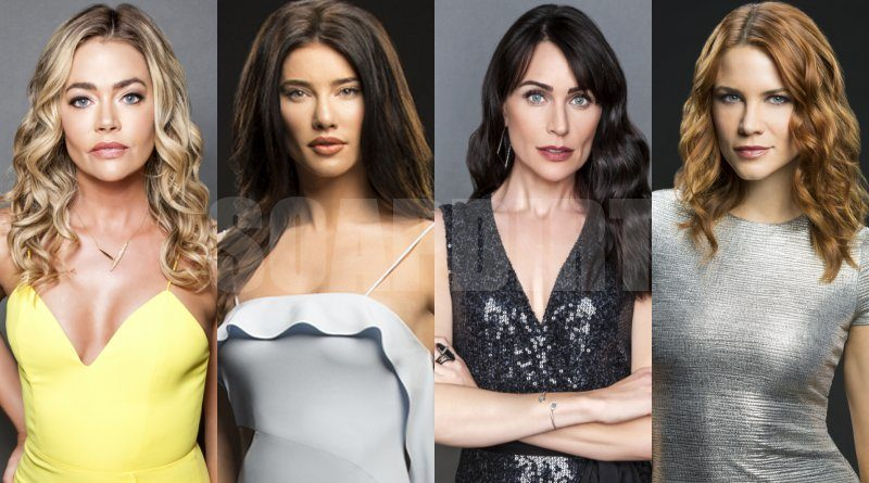 Bold and the Beautiful: Shauna Fulton - Steffy Forrester - Sally Spectra - Quinn Fuller