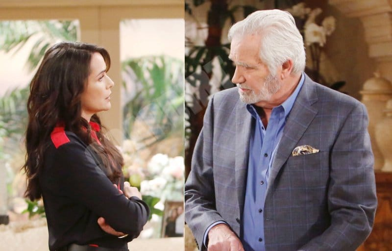 Bold and the Beautiful Spoilers: Eric Forrester (John McCook) - Quinn Fuller (Rena Sofer)