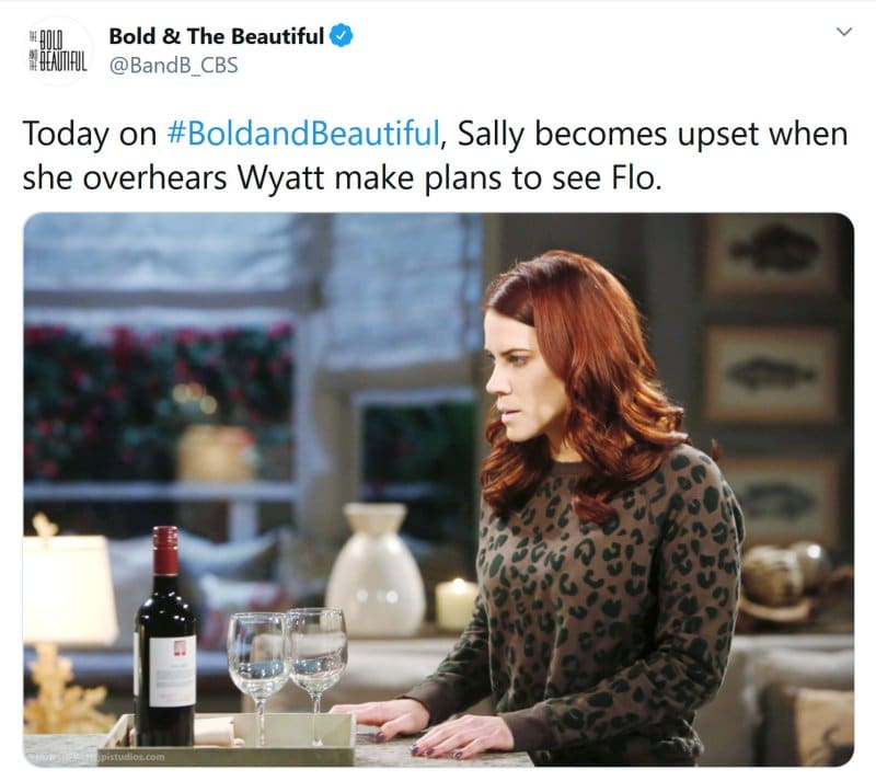 Bold and the Beautiful Spoilers: Sally Spectra (Courtney Hope)